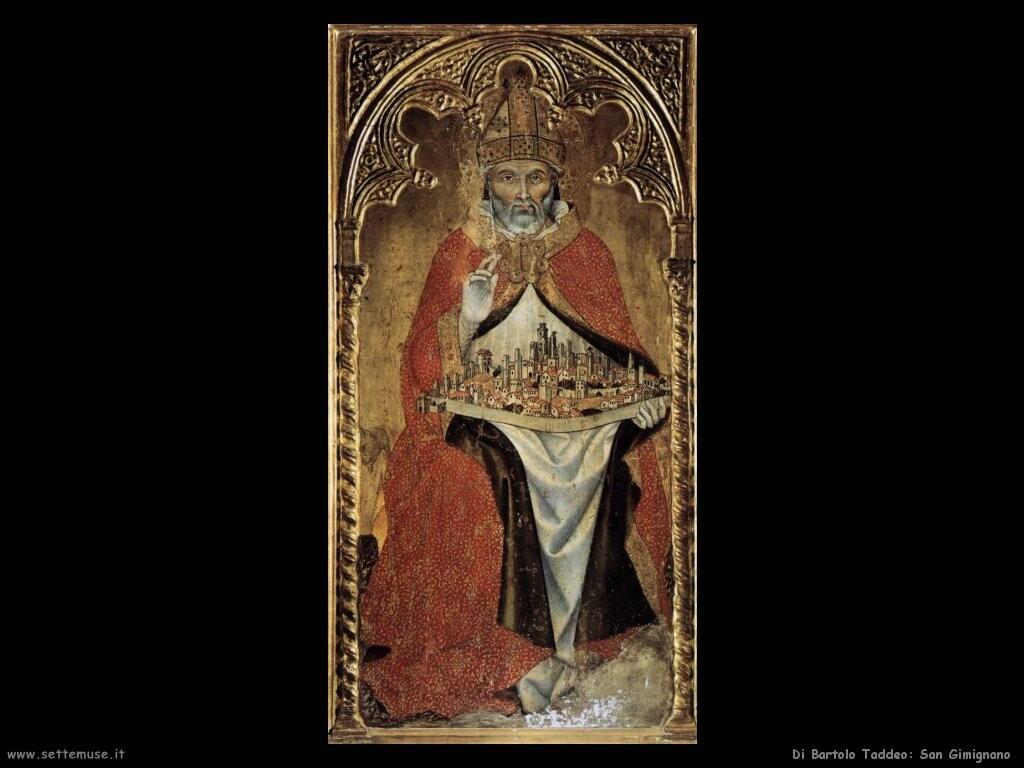 di bartolo taddeo  San Gimignano