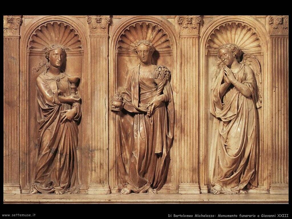 di bartolomeo michelozzo Monumento funereo a Giovanni XXIII