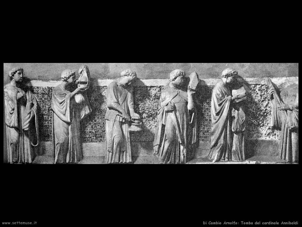 di cambio arnolfo  Tomba del cardinale Annibaldi
