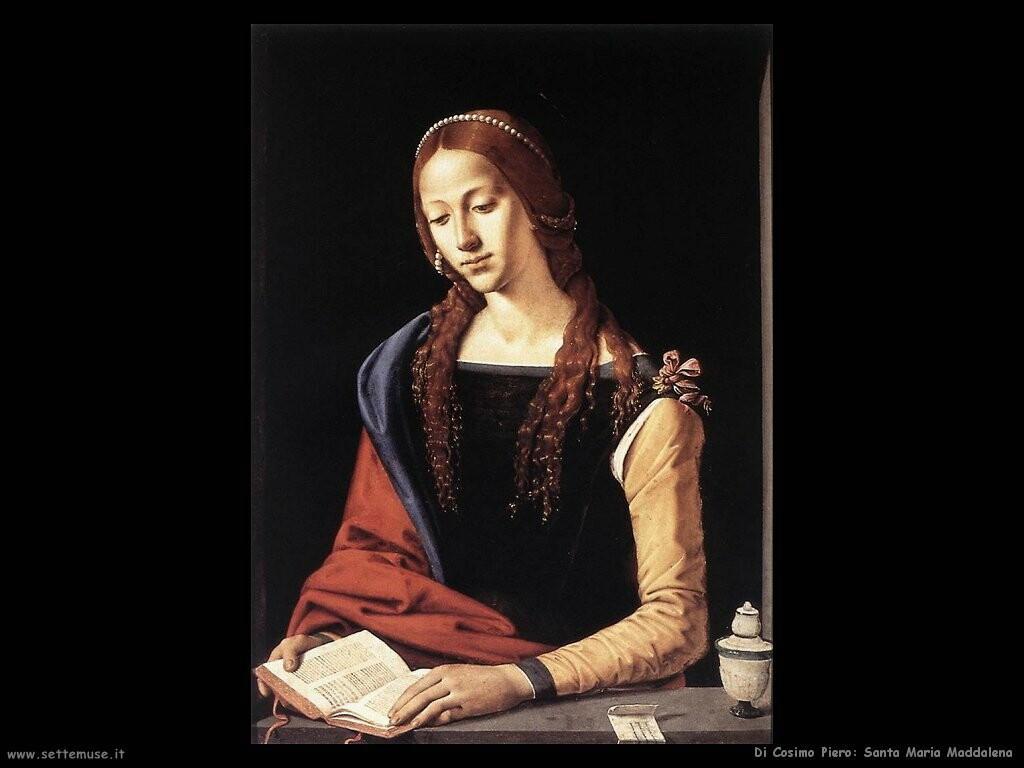 di cosimo piero  Santa Maria Maddalena