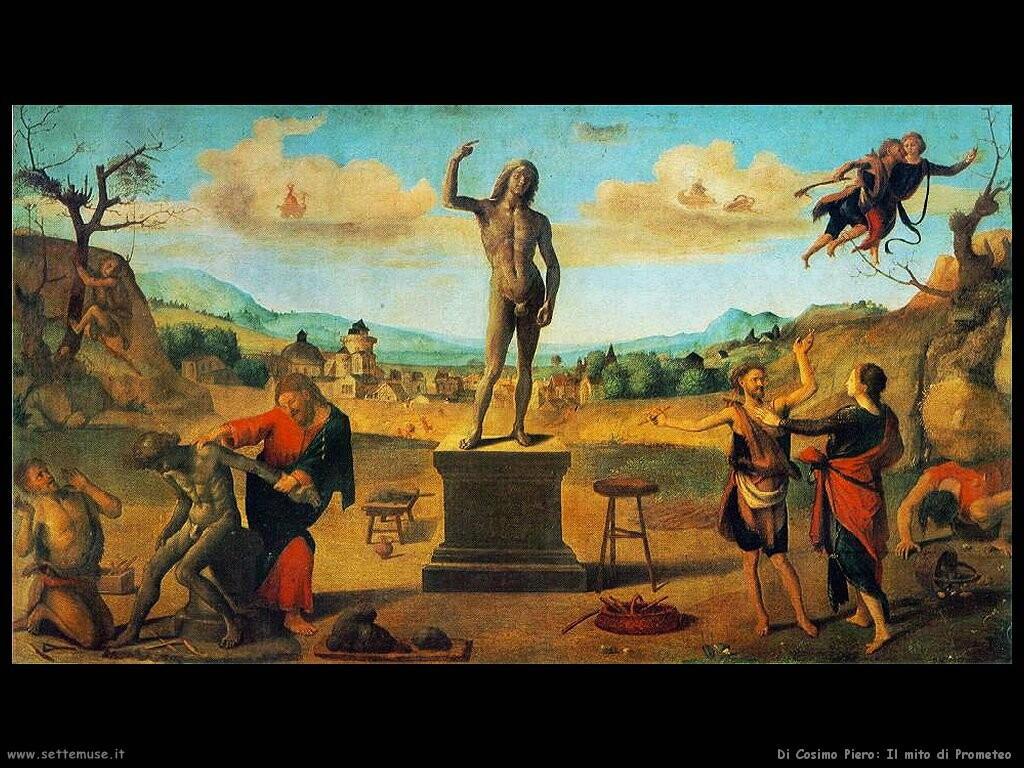 di cosimo piero Il mito di Prometeo