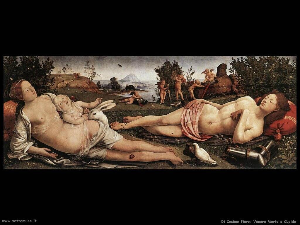 di cosimo piero Venere, Marte e Cupido