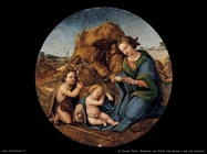 di cosimo piero Madonna con Cristo che dorme e san Giovanni