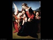 di cosimo piero Vergine con bambino e due angeli