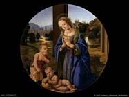 di credi lorenzo  Adorazione del Bambino