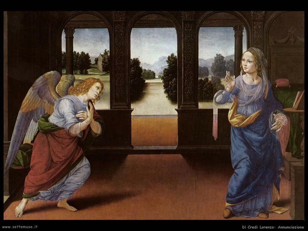 di credi lorenzo Annunciazione