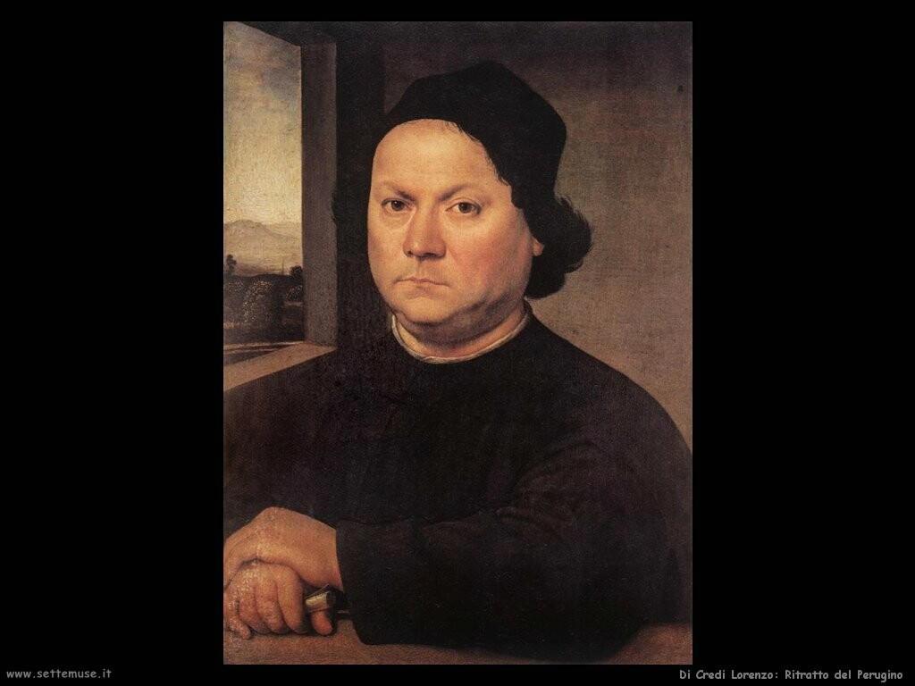 di credi lorenzo Ritratto del Perugino