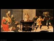 di giovanni bartolomeo Predella martirio di san Giovanni