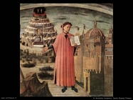 di michelino domenico Dante illumina Firenze (dett)