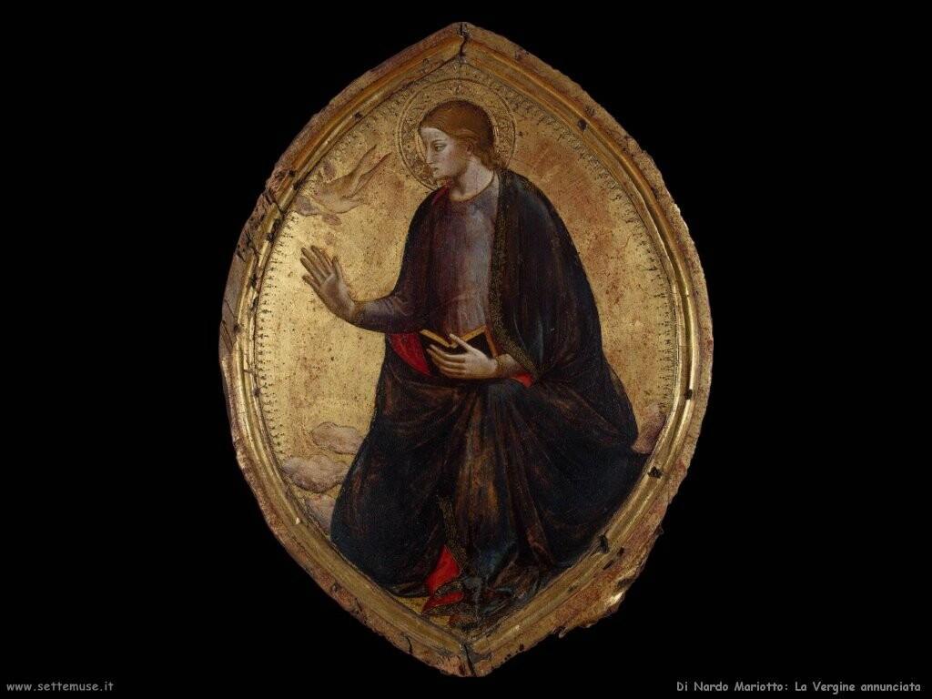 di nardo mariotto La Vergine annunciata