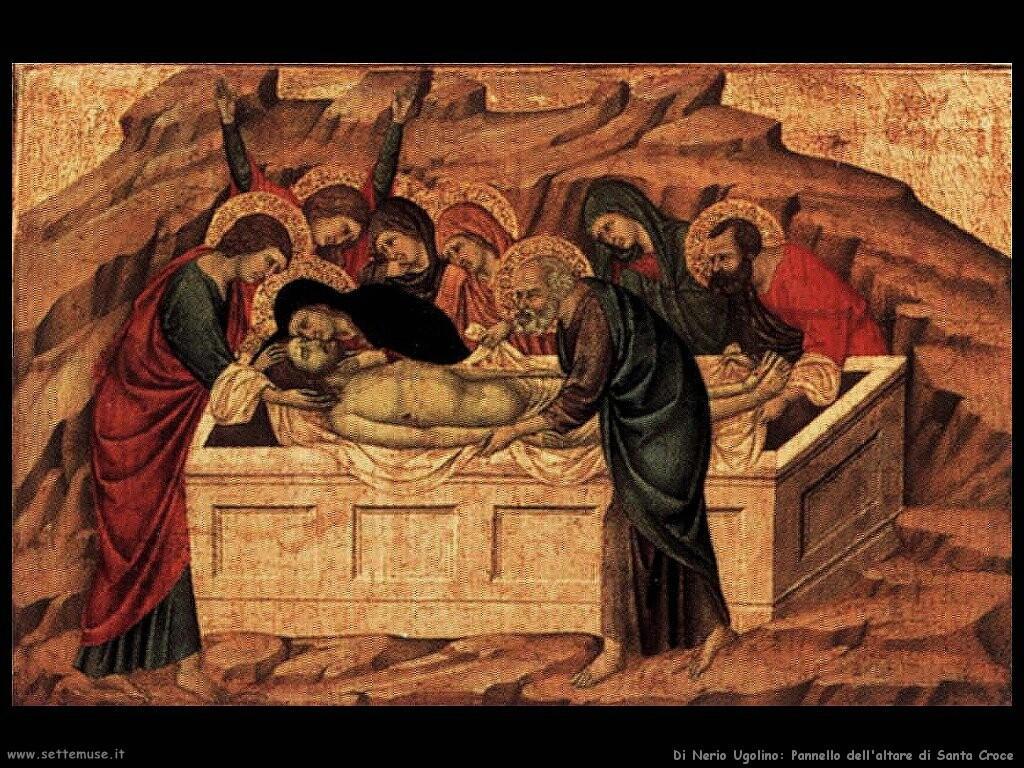 di nerio ugolino Pannello dall'altare di Santa Croce