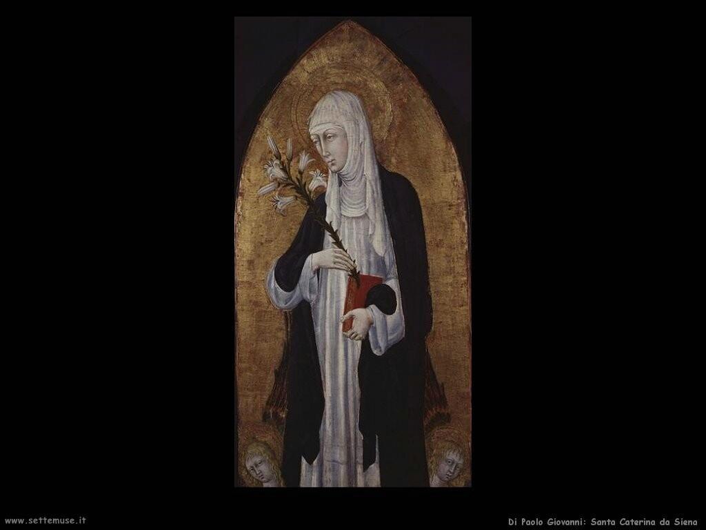 di paolo giovanni  Santa Caterina da Siena