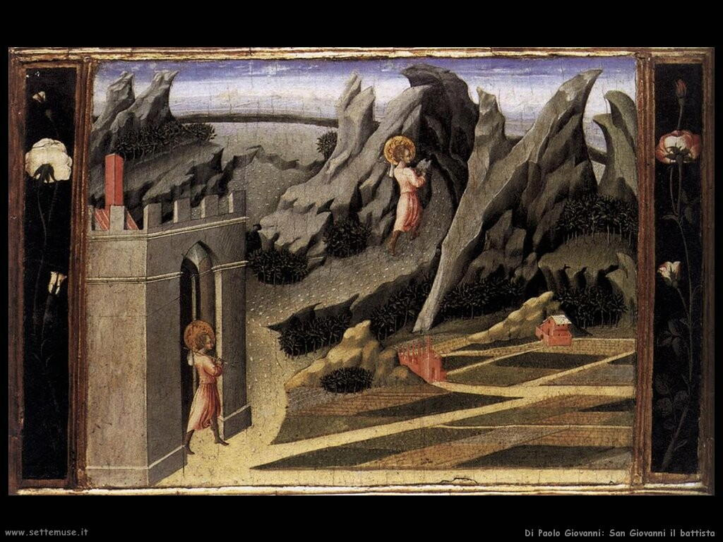 di paolo giovanni San Giovanni battista