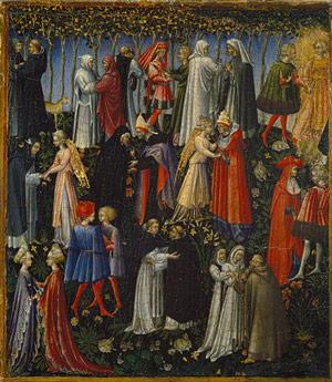 Pittura di di Giovanni Di Paolo