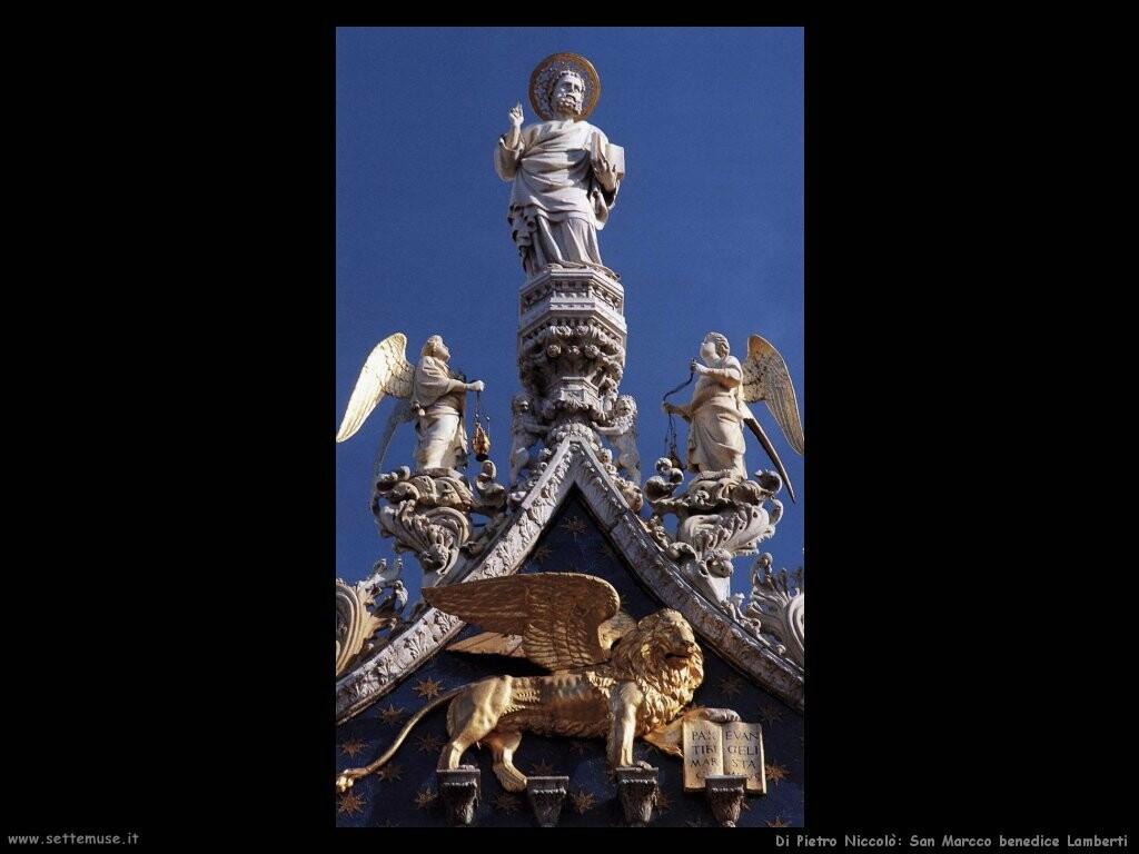 di pietro niccolo San Marco benedice Lamberti