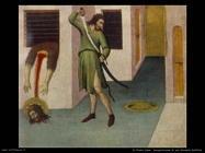 di pietro sano  Decapitazione di san Giovanni battista