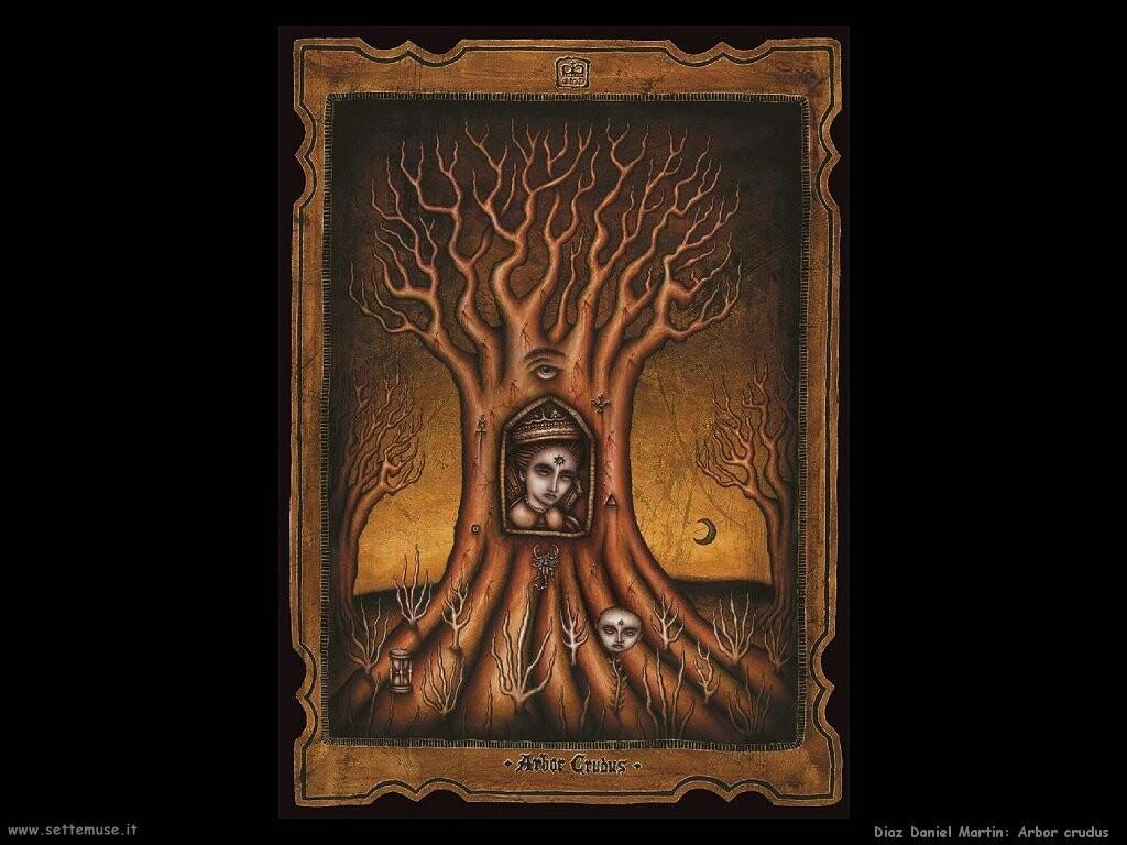 daniel martin diaz Arbor crudus