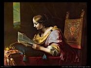 dolci carlo Santa Caterina mentre legge un libro