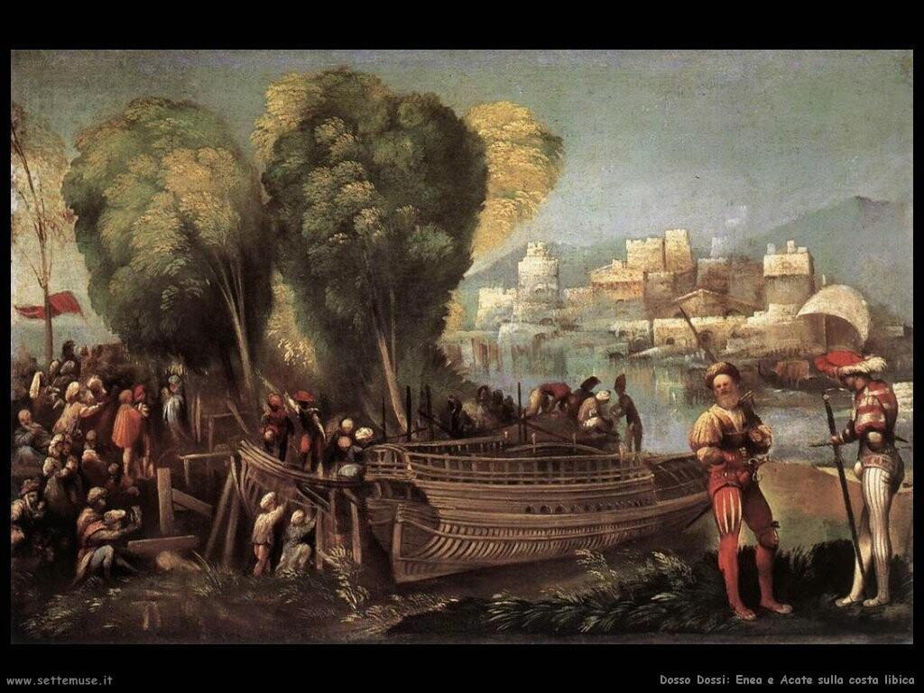 dosso dossi  Enea e Acate sulla costa libica
