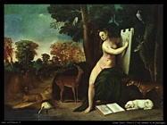 dosso dossi  Circe e il suo amante in un paesaggio