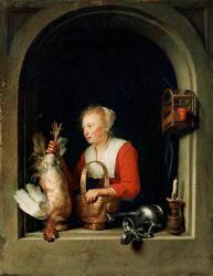 Pittura di Gerrit Dou