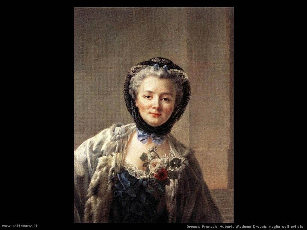 drouais francois hubert  Madame Drouais, moglie dell'artista