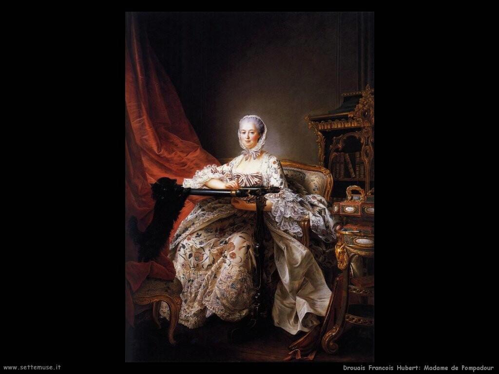 drouais francois hubert Madame de Pompadour