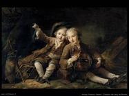 drouais francois hubert I figli del duca de Bouillon