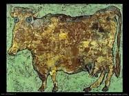 dubuffet_jean La mucca dal naso sottile (1954)