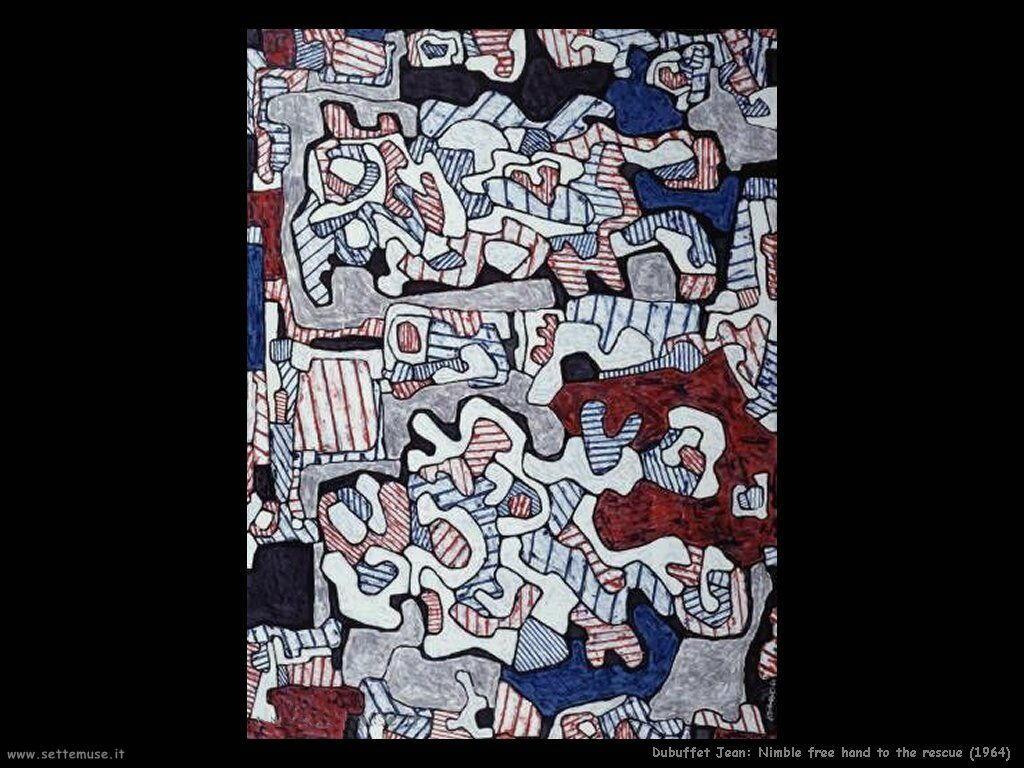 dubuffet_jean Agili mani libere al salvataggio (1964)