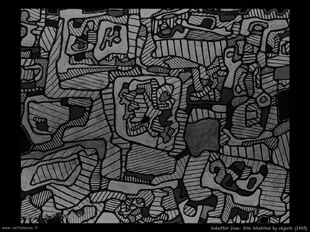 dubuffet_jean Angolo occupato da oggetti (1965)