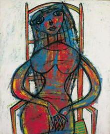 Pittura di Dubuffet Jean