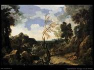 dughet gaspard Paesaggio con san Girolamo