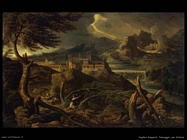 dughet gaspard   landscape_with_lightning