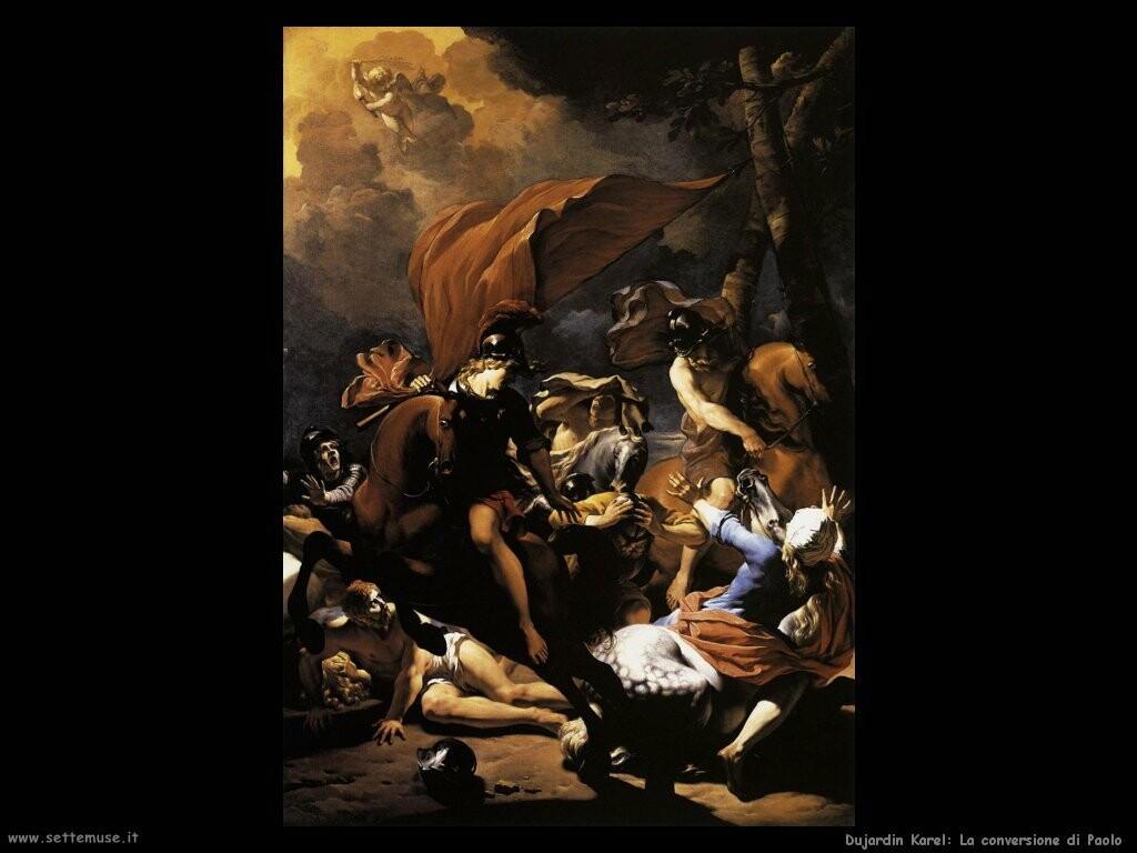 dujardin_karel La conversione di san Paolo