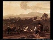 dujardin karel Paesaggio nelle campagne romane
