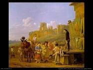 dujardin karel Incontro di ciarlatani in un villaggio italiano