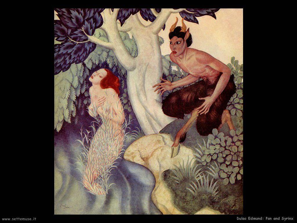 Dulac Edmund Pan e la sirena