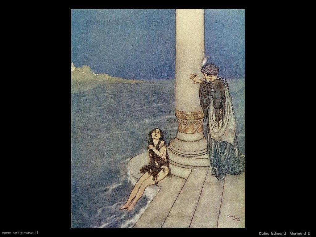 Dulac Edmund Mermaid 2
