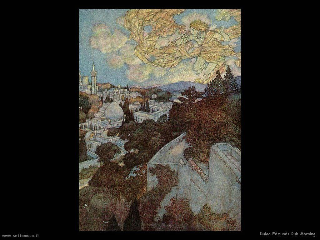 Dulac Edmund Rub Morning
