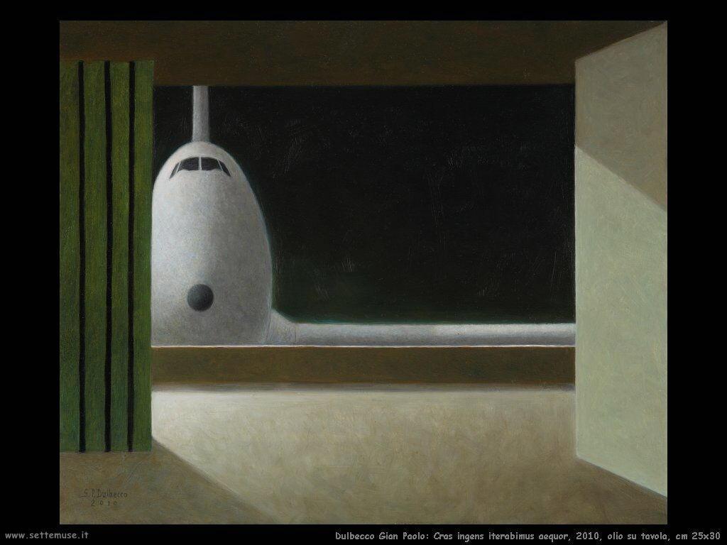 Cras ingens iterabimus aequor, 2010, olio su tavola, cm 25x30