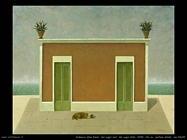 Dei sogni veri, dei sogni falsi, 2008, olio su  cartone telato, cm 40x50