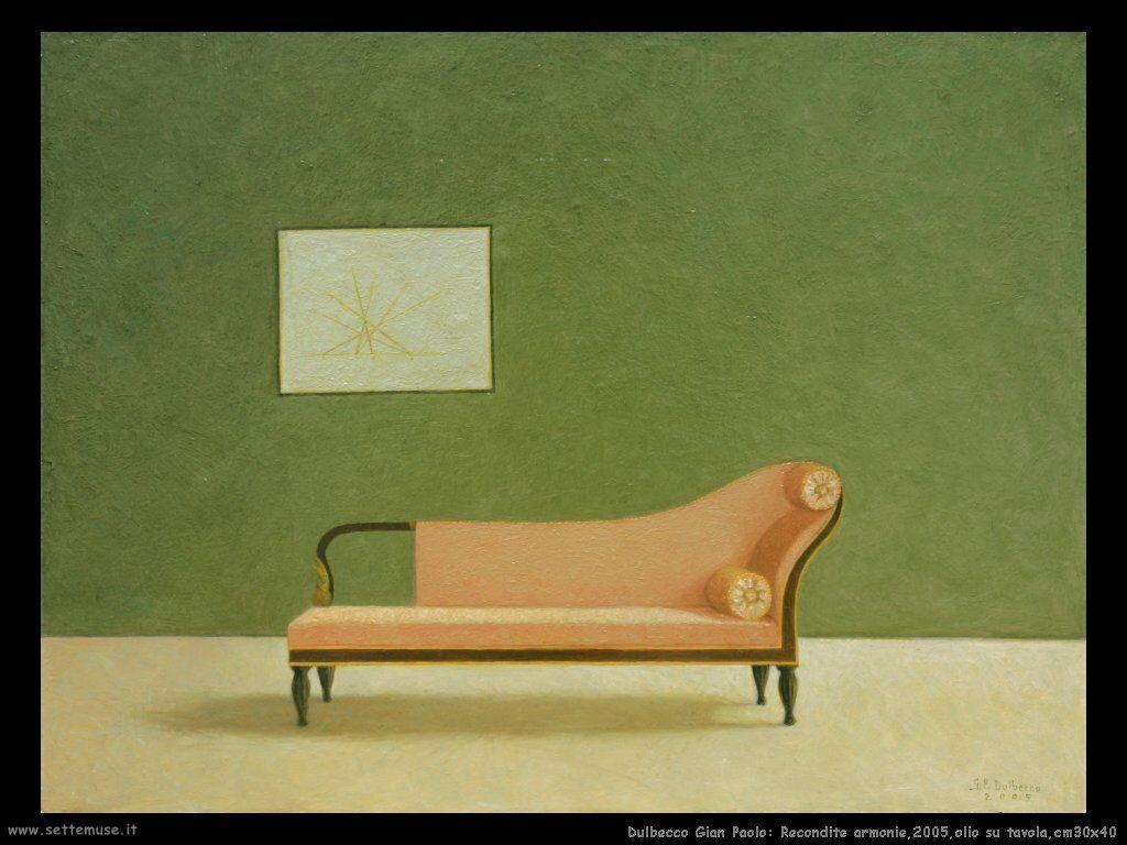 Recondite armonie,2005,olio su tavola,cm30x40
