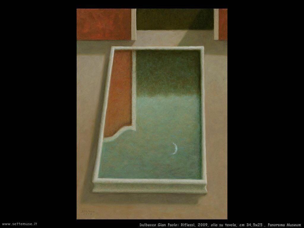 Riflessi, 2009, olio su tavola, cm 34,5x25 , Panorama Museum