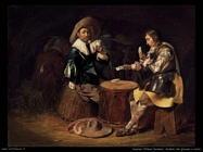duyster willem cornelisz Soldati che giocano a carte