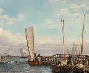 Porto Christoffer Wilhelm Eckersberg