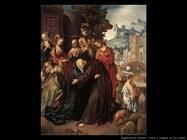 engebrechtsz cornelis Cristo si allontana dalla madre