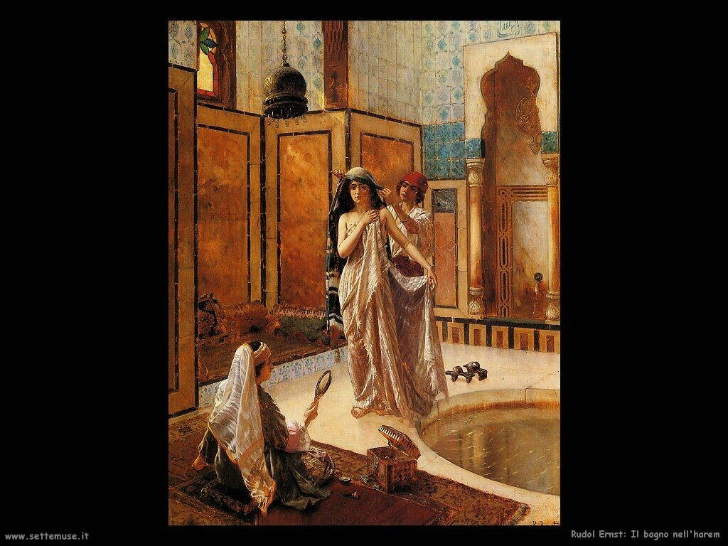 ernst rudolf  Il bagno dell'harem