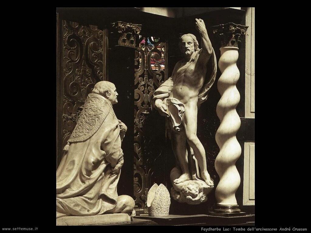 faydherbe luc Arcivescovo Andrè Cruesen