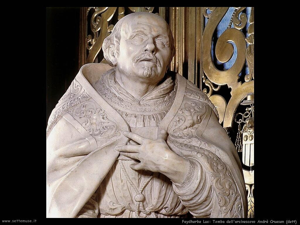 faydherbe luc Tomba dell'arcivescovo Andrè Cruesen